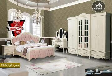 غرف نوم تفصيل وجاهز حسب الطلب