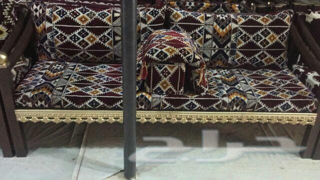 جلسات حديد وكراسي كويتية ومساند حديد البيع