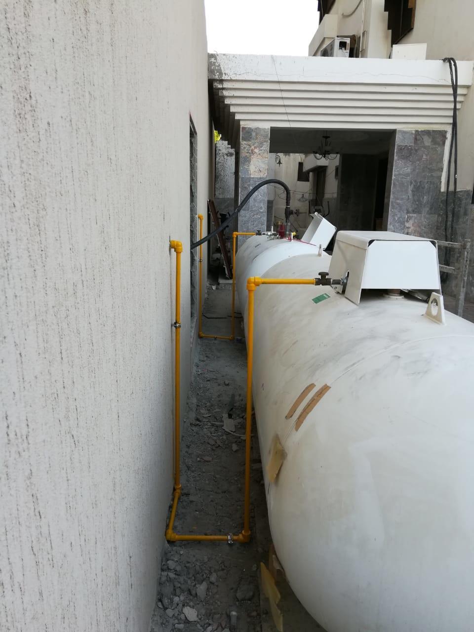 تمديدات الغاز المركزي وصيانتها ونضام الأمان