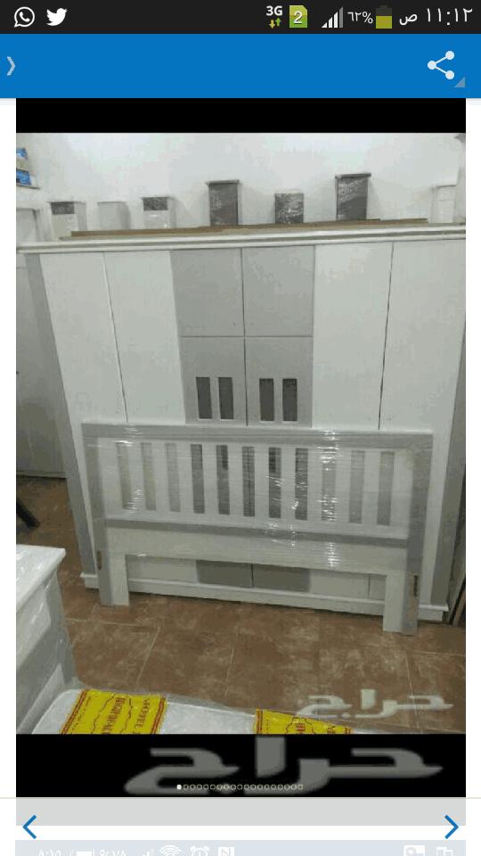 غرف نوم نفرين مخفض مع التوصيل والتركيب