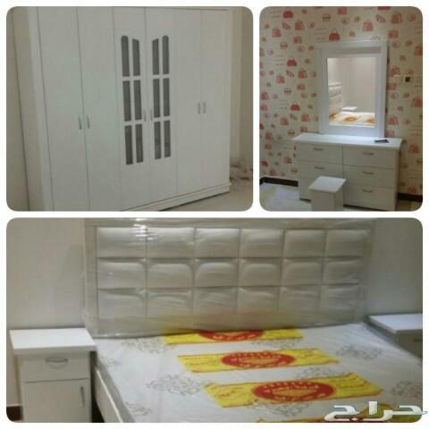 غرف نوم نفرين ومفرد وسريران تبدامن1150الرياض