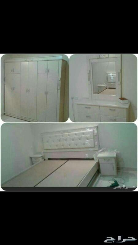 غرف نوم نفرين ومفرد وسريران تبدامن1600الشرقيه