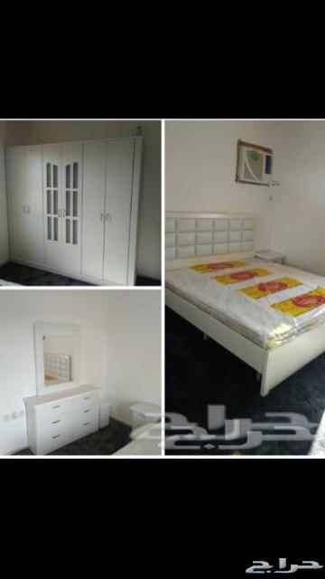 غرف نوم نفرين ومفردوسريران تبدا من1600نجران