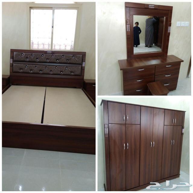 غرف نوم نفرين ومفرد وسريران تبدا من1600الطايف