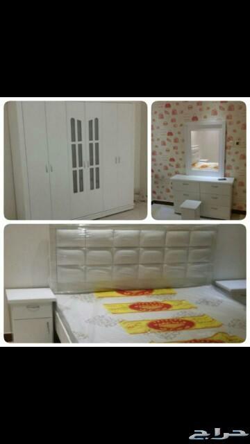 غرف نوم نفرين ومفرد وسريران تبدامن1600الطايف