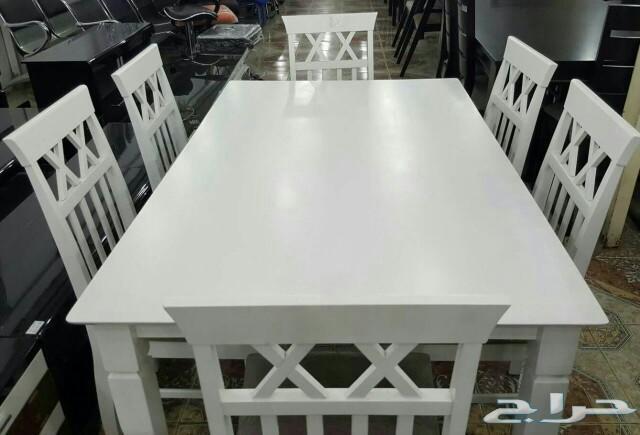 طاولات طعام خشب ماليزي