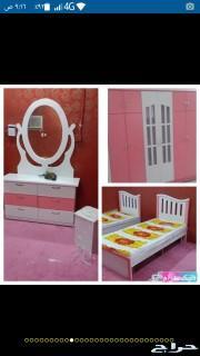 غرف نوم نفرين واطفال 1800ريال جيزان