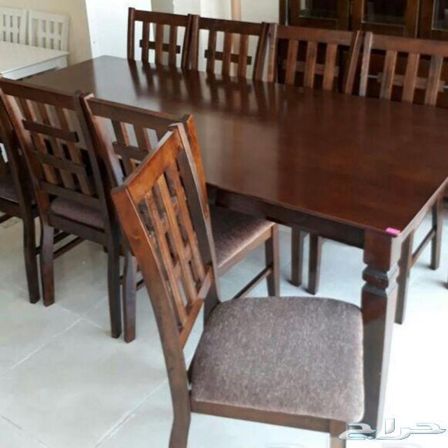 طاولات سفرة طاولات طعام ماليزي خشب زجاج