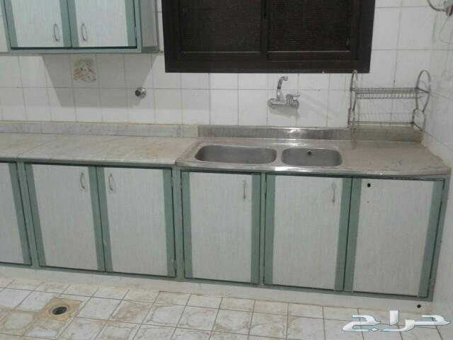 مطبخ الومنيوم مستعمل نضيف للبيع