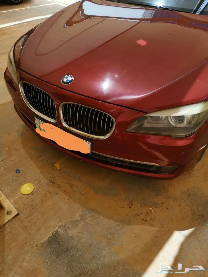 لاصحاب الذوق العالي BMW 740 2012