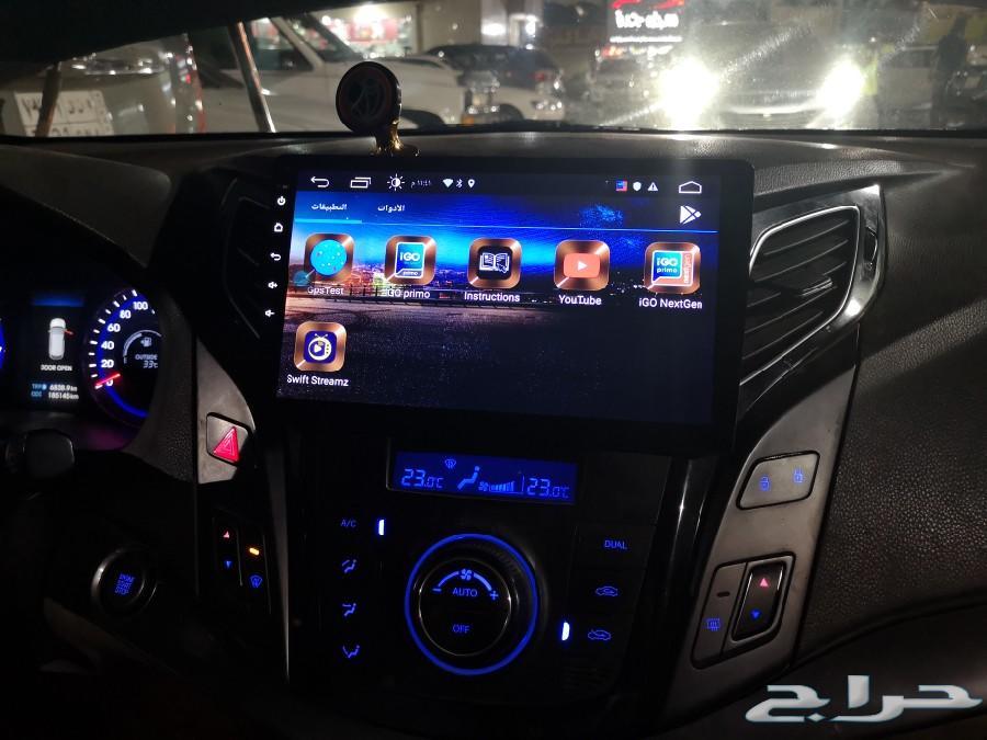شاشه i40 وتركب لأغلب السيارات نظام اندرويد
