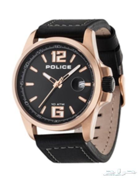 a5fe0481e حراج الأجهزة | ساعة ماركة police جديدة