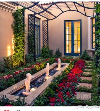 مشتل تنسيق الحدائق وتصميم فلل و قصور استراحة