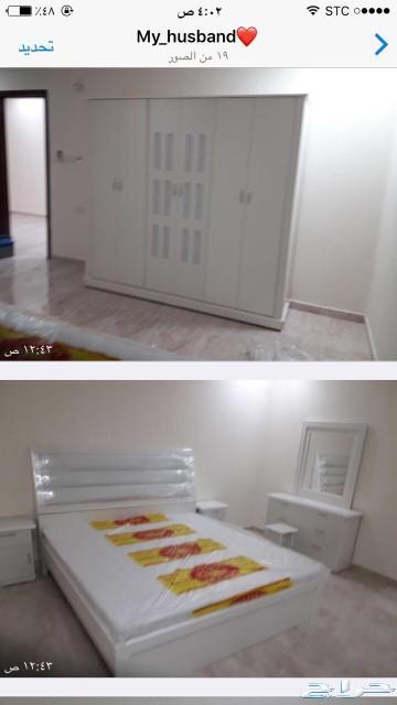 غرف نوم نفرين ومفرد وسريران تبدا من1600القصيم
