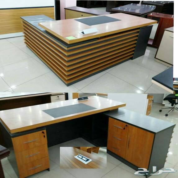 مكاتب كراسي \nكنب جلد دواليب مكتبة طاولات