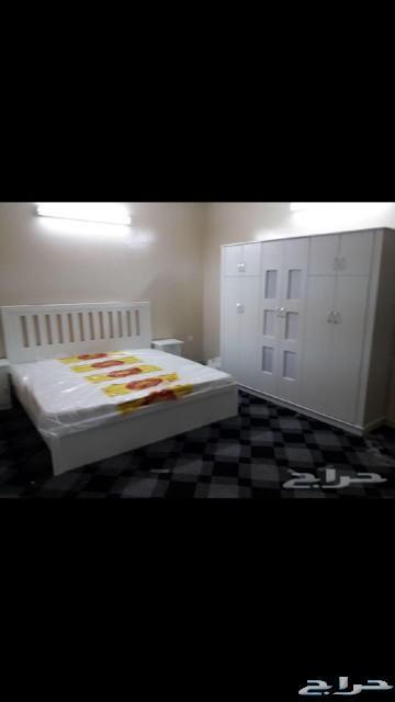 غرف نوم نفرين ومفرد وسريران تبدا من1600نجران