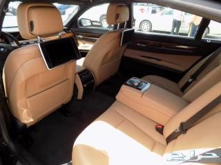 BMW 740Liفل كامل موديل 2015 ممشي قليل
