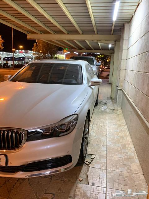 للبيع BMW 730موديل 2018 مالك اول