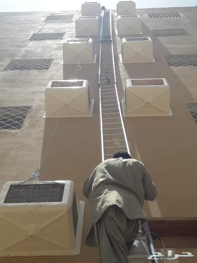 طارد الطيور تركيب غطاء المكيف 0583245465