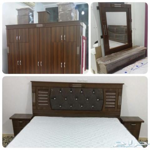 غرف نوم نفرين ومفرد وسريران تبدا من1600الباحة