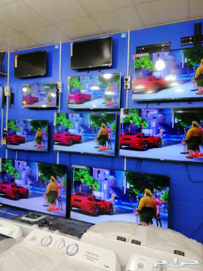 شاشات بلازما تلفزيون سمارت واي فاي 4k شامل ال