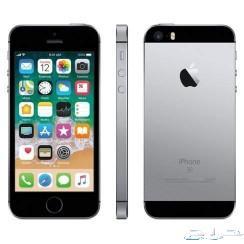 للبيع جوال iPhone SE 64G اسود بحالة ممتازة ا