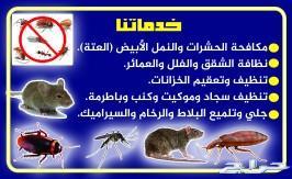 شركة تنظيف الخزانات وعزل و مكافحة الحشرات مكه