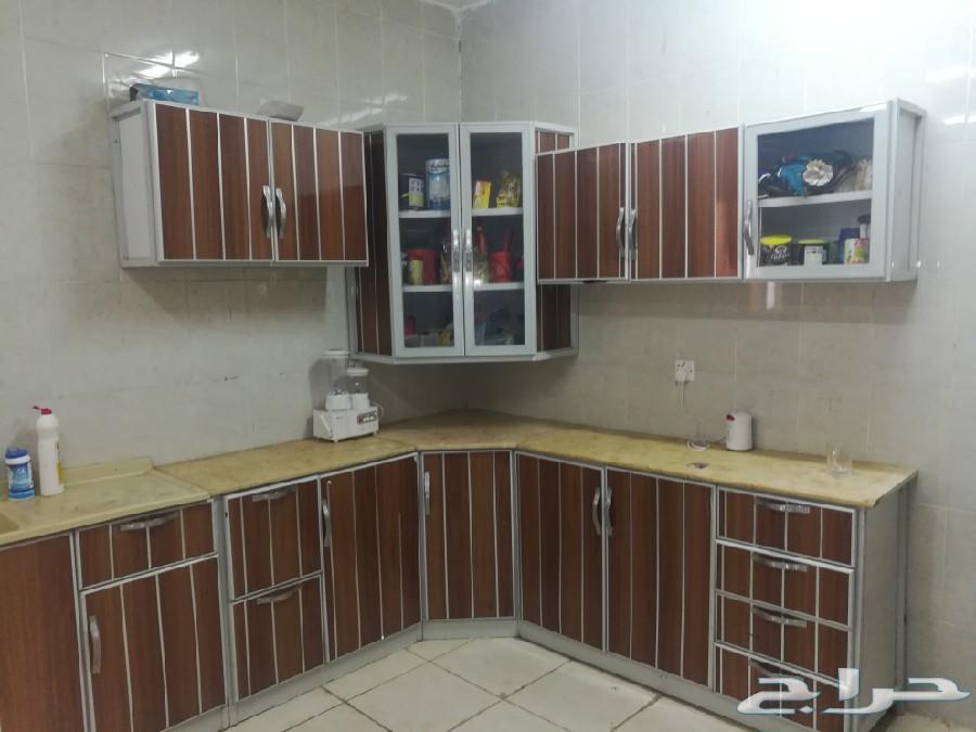 مطبخ 6م مراية كبير للبيع مستعجل مسافر بعد أسب