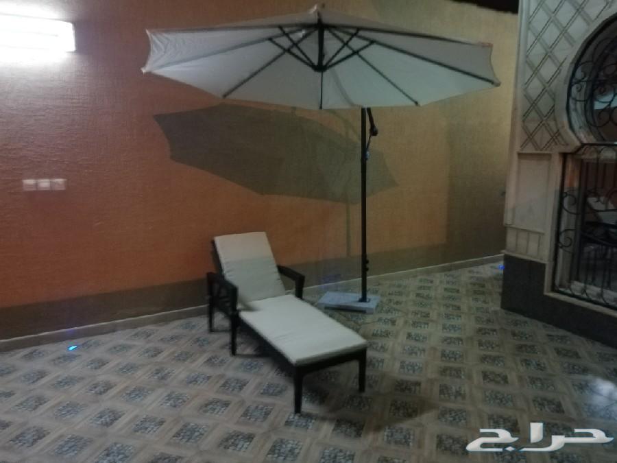 جلسات خارجية خيام مراجيح برقولات مظلات عروض