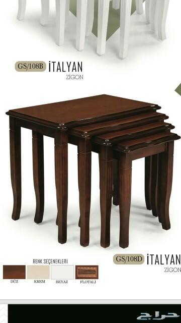 طاولات شاي خشب ماليزي
