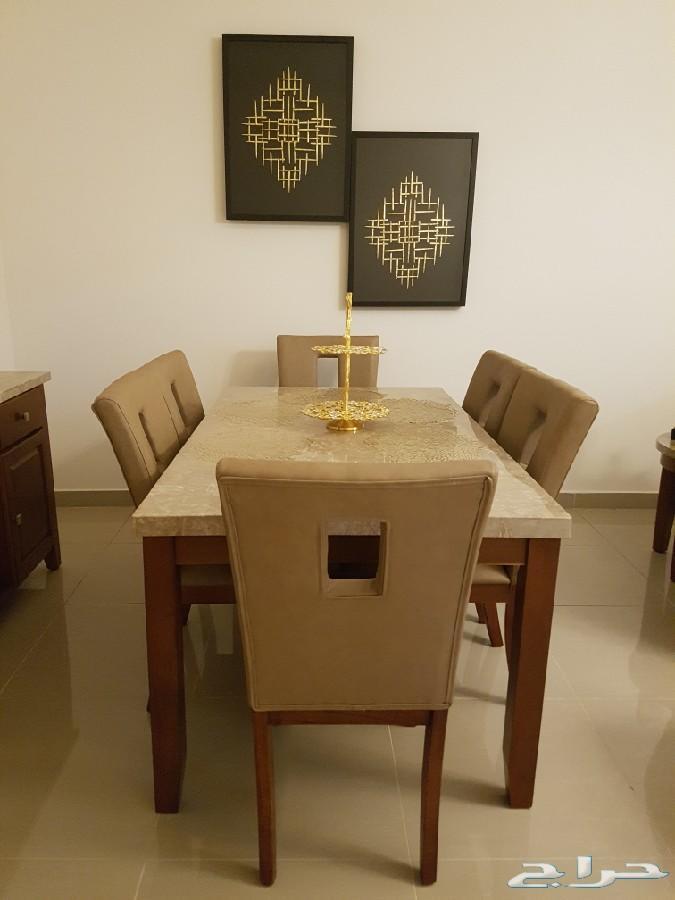 اثاث منزل - تحف - براويز - طاولة طعام - ثريات