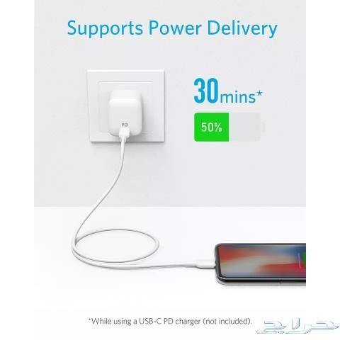 سلك انكر USB-C الى لايتنيج (Lightning)