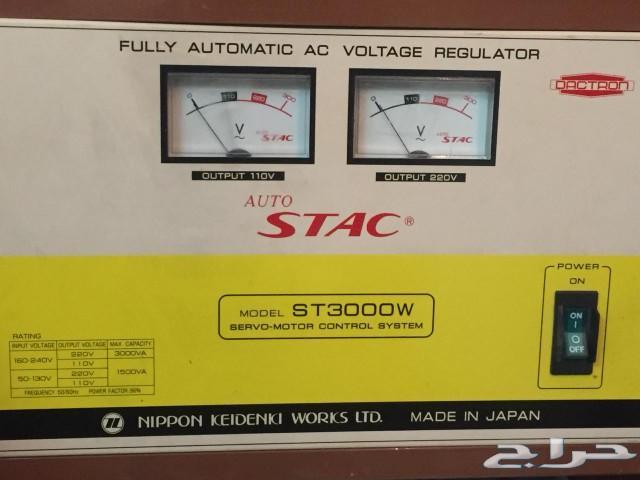 منظم كهرباء جديد استعمال خفيف لللبيع في جدة.