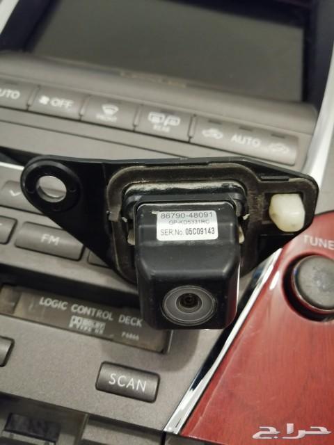 شاشة لكسز es350 2007 و كاميرا rx