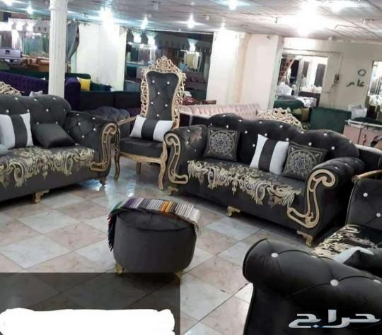 قصر بشاشه للمفروشات جاهز وتفصيل