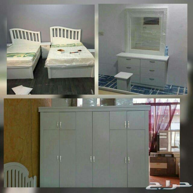 غرف نوم نفرين مع تركيب وتوصيل جيزان1800