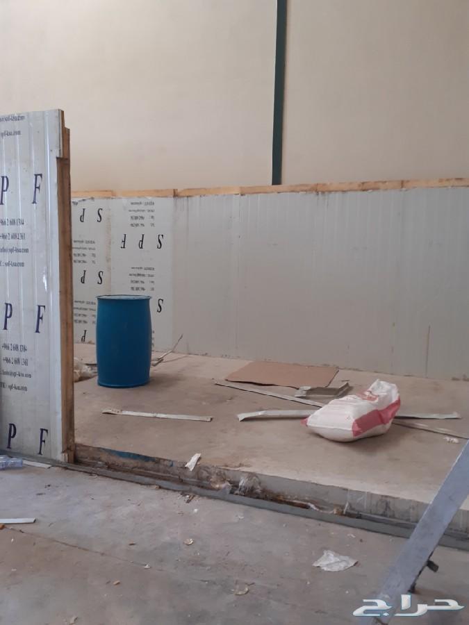 صيانة وتركيب غرف التبريد والتجميد والتكييف