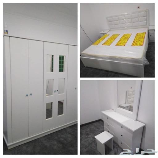 غرف نوم جديده بأسعار مخفضة مع التوصيل