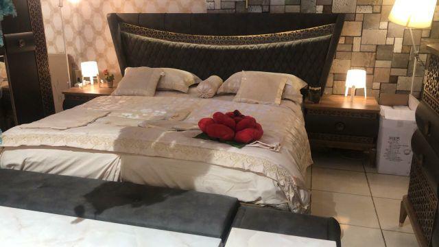 غرف نوم فخمة صناعة تركية