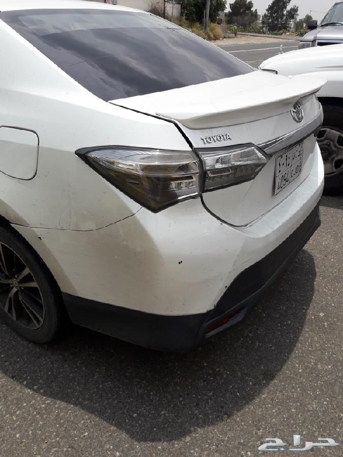 سياره كورولا2016م للتقبيل