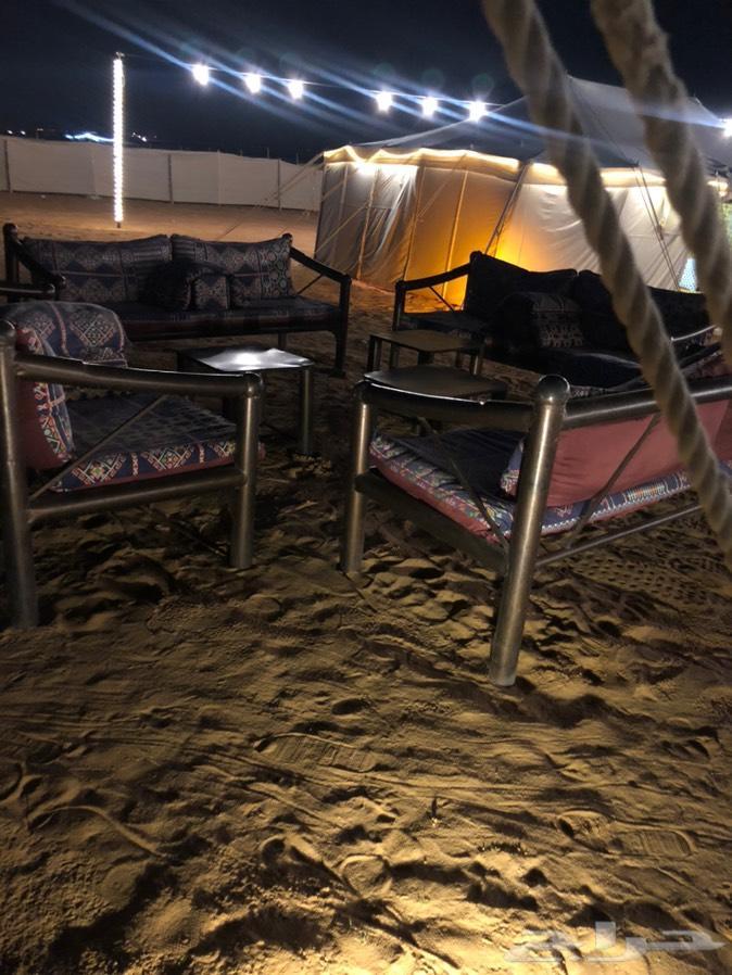 مخيم للايجار في الثمامه ( لمة )