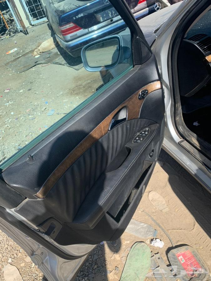 مرسيدس E350 م 2007 تشليح قطع غيار فقط