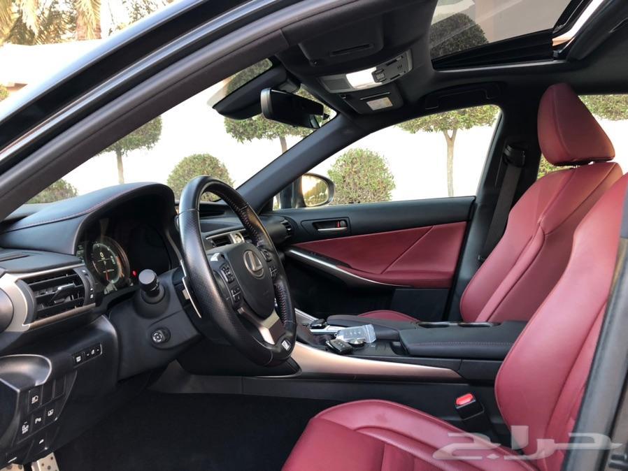 لكزس IS 350 2017  فل FSport (( تم البيع ))