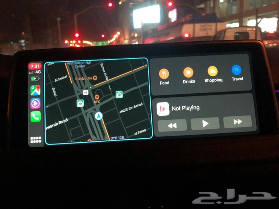 برمجة مزايا بي ام CarPlay BMW خرائط 2020