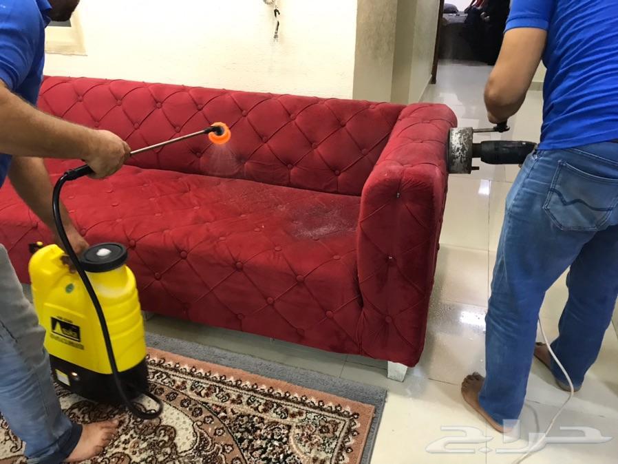 شركة تنظيف كنب مجالس موكيت سجاد خيم فرشات