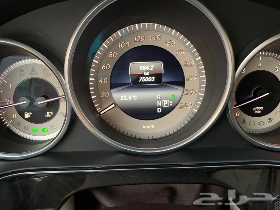مرسيدس E300 2014 بدي وكاله(( تم البيع ))