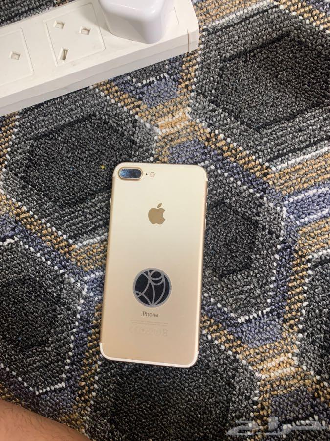 ايفون 7 بلص الجهاز نظيف توي مغير شاشه بس