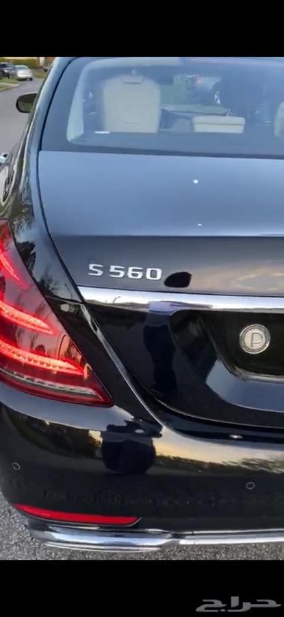 مرسيدس 2018  اس 560
