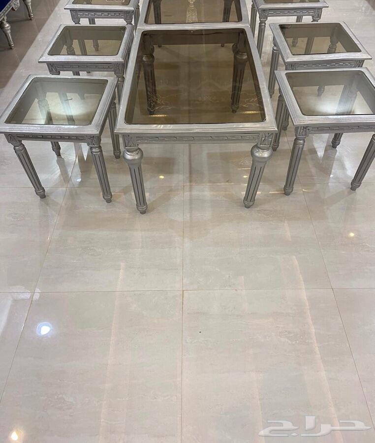 طاولات تقديم خشب مصري
