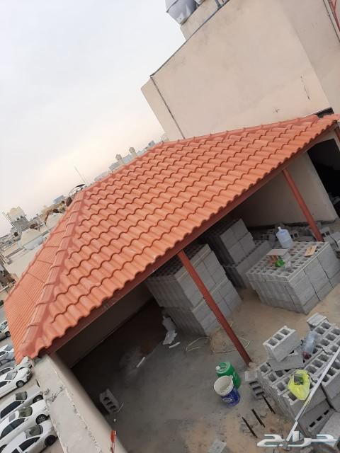 بناء مجالس \nترميم مظلات